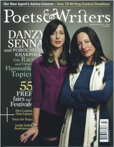 Cover of March/April 2010 issue of 'Poets & Writers' Magazine